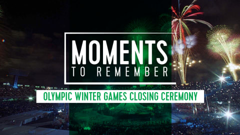 6 Iconic Moments From Olympic Winter Games Closing Ceremonies