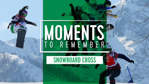 5 victorias para el recuerdo en el snowboard cross olímpico