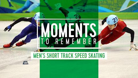 Top 5 des avances en short-track masculin aux Jeux