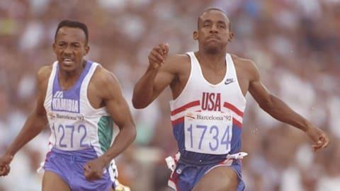 1992年巴塞罗那奥运会-玛施获得200米决赛冠军