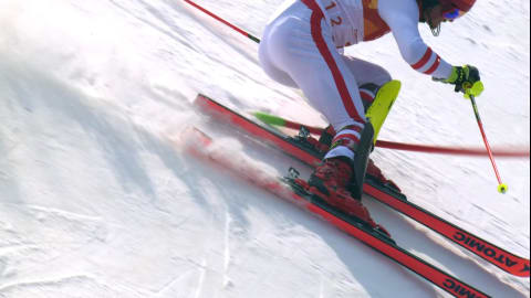 Men's Slalom, 2nd Run - Alpine Skiing | PyeongChang 2018 Replays