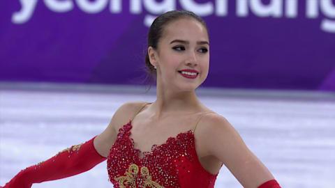 アリーナ・ザギトワ(OAR)- 金メダル | 女子フリースケーティング
