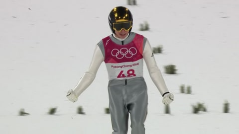 Tremplin Normal H Finale - Saut à Ski | Replay de PyeongChang