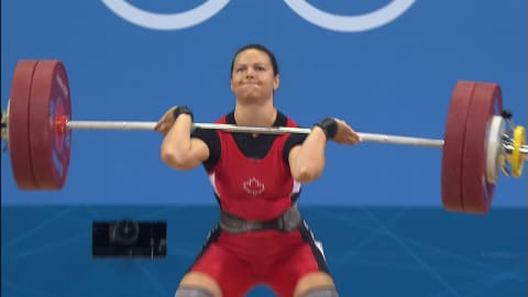 Re-live Christine Girard's gold-winning lift at London 2012