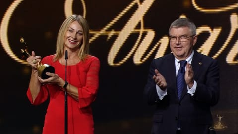 Special ANOC recognition for Comaneci