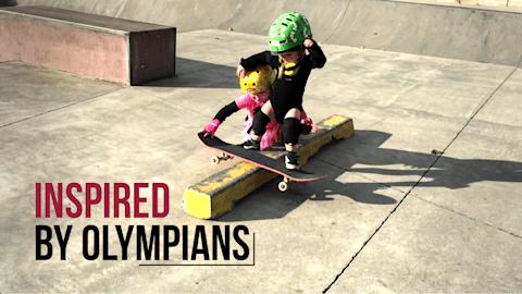 Recopilación del skateboarding I Inspired by Olympians