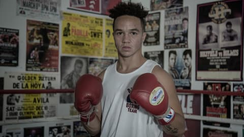 Former Olympic boxing hopeful looks to make history as a trans fighter