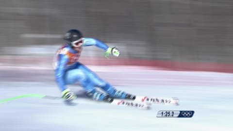 スロベニアのメダリスト:ティナ・マゼ、ALスキー、滑降|ソチ2014