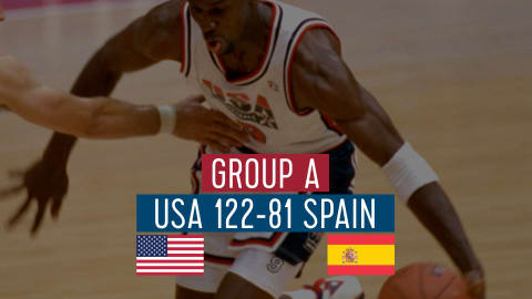 USA vs Espagne (Groupe A) | Dream Team Barcelone '92