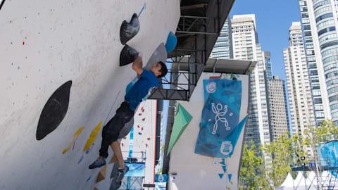 Final combinada de bloque (M) - Escalada deportiva | JOJ Buenos Aires 2018