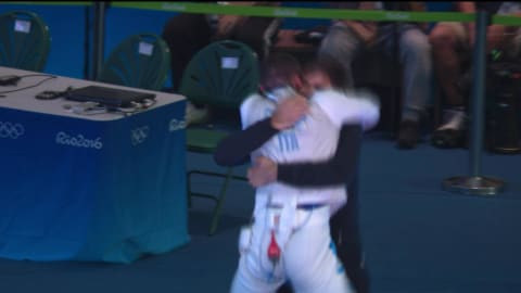 Italy's Garozzo earns Fencing Foil gold