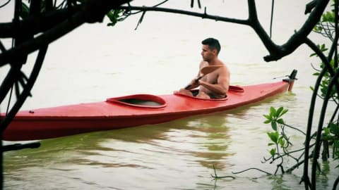 Shirtless Tongan Pita Taufatofua reveals kayak as new sport for third Olympic bid