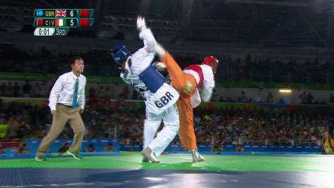 Cisse wins Men's Taekwondo gold