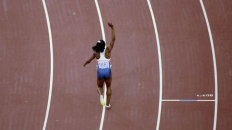ディバース - バルセロナ1992女子100mで金メダル