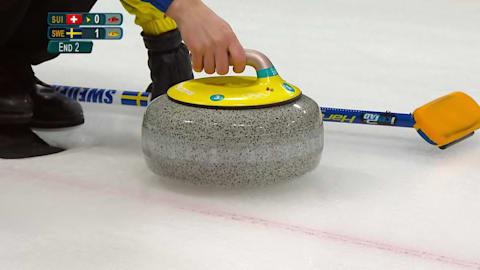 SUI v SWE (Round Robin) - Women's Curling | PyeongChang 2018 Replays
