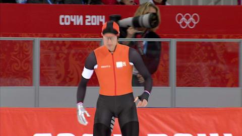 التزلج السريع: سباق 500م   ر. مولدر - سوتشي 2014