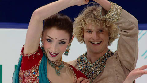 Meryl Davis e Charlie White si ispirano a Bollywood | Music Monday