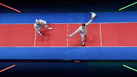 Finales (E) - Espada (F) y Sable (M)   Campeonato del Mundo FIE - Budapest