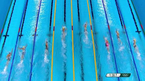 Reviviendo Río: final femenina de los 200 metros libres