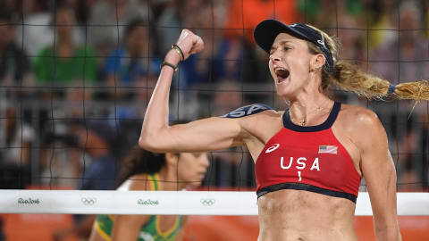 Beach volleyball star shares her recipe for Olympic success