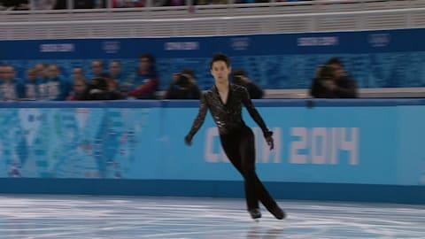 Denis Ten (KAZ)  Men's Figure Skating - Sochi 2014 Replays