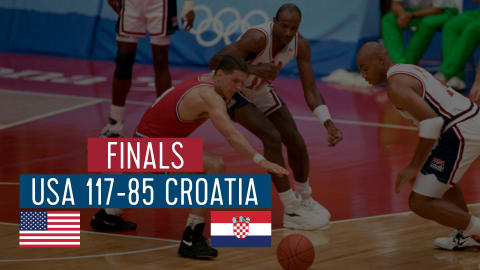 USA vs Croatie (Finale) | Dream Team Barcelone '92