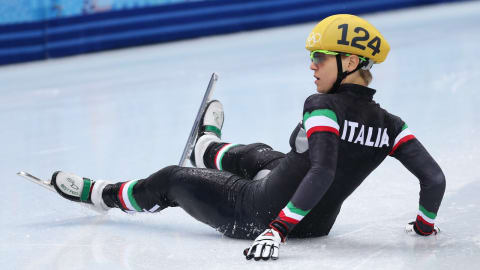 أريانا فونتانا | حاملة علم إيطاليا في بيونج تشانج