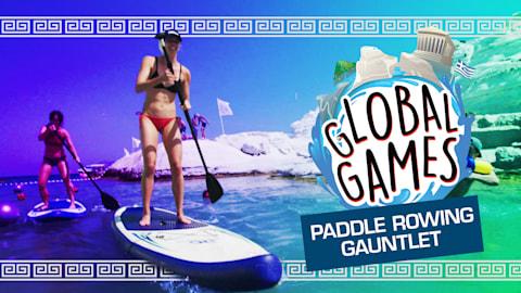 Paddle Rowing Gauntlet