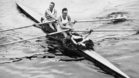 Only stormy seas could ruin rowing's 100 per cent Olympic record