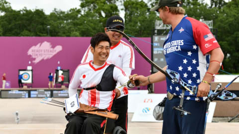 アーチェリー東京五輪テストイベント4日目:パラ世界8位の上山ら出場