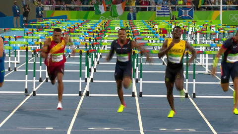 Mcleod makes Hurdles history for Jamaica