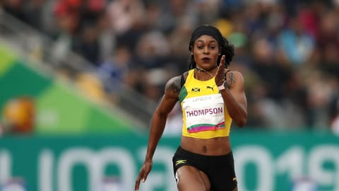 Who will be the world's fastest woman in Doha?