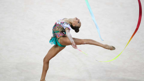 Nightmare for Arina Averina at Rhythmic Gymnastics World Championships