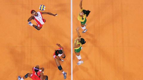 巴西 v 喀麦隆 | FIVB 女子奥运资格赛 - 乌贝兰迪亚