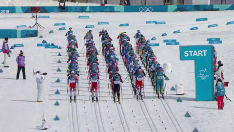 Men's Mass Start 50km - Cross-Country Skiing | PyeongChang 2018 Replays