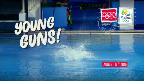 Postcards from Rio - Day 14: young guns