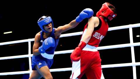 The beauty of Women's Boxing