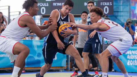 Finale uomini - Basket 3x3 | Buenos Aires GOG 2018