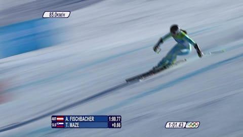 Medalhistas Eslovenos - Tina Maze -  Esqui Alpino - SuperG - Vancouver 2010