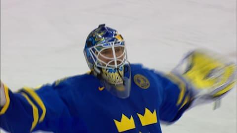 Stunning save secures Swedish gold
