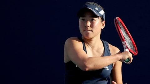 WTAツアー公式戦、花キューピットOP単決勝で日比野が土居を下し戴冠…複も制し2冠達成