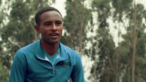Teenage orphan is Ethiopia's next great distance runner