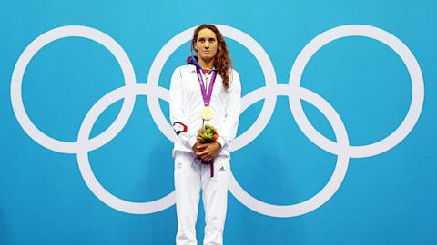 France's Muffat battles USA's Schmitt to win gold | London 2012 Replays