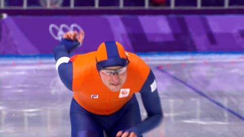 남자 5000m - 스피드 스케이팅 | 평창 2018 하이라이트
