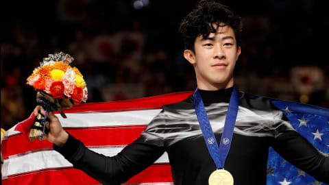 Nathan Chen retains World Championship crown in Saitama