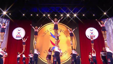 Coed Premier Highlights | ICU World Cheerleading Championships - Orlando