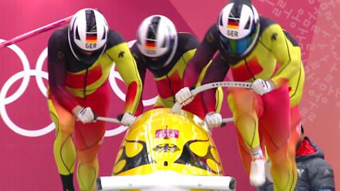 1º Heat - Four-Man Bobsleigh | PyeongChang 2018 Replays