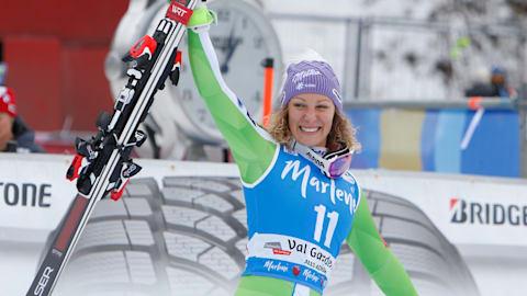 PyeongChang absentee Stuhec claims Val Gardena double