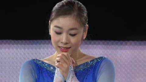 Yuna Kim's mesmerising skate to 'Imagine' at Sochi 2014 | Music Mondays