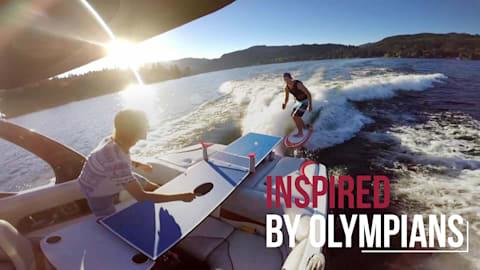 مقتطفات من تنس الطاولة I Inspired by Olympians
